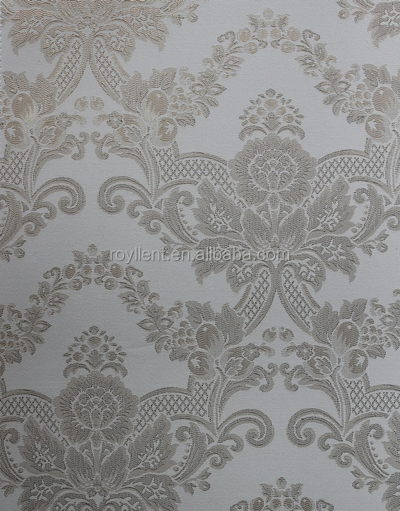 Glittering interior wall fabric for living room