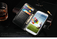 For Samsung Galaxy S4 s5 s6 Cheap Luxury Uncommon Printed Hallmark Phone Case Cover with Card Holder and Stand Function