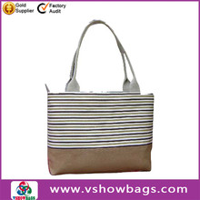 Fashion design 2014 hand bags canvas shopping bag