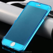 UltraThin Slim Crystal Clear Flip Case for Apple iphone 6 4.7/ Plus 5.5 Soft TPU Cover Accessories Transparent Case for iphone6
