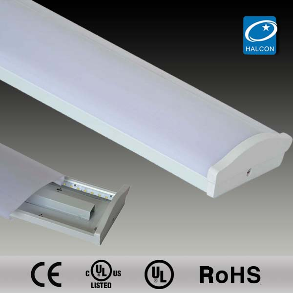 T5,T8 clear acryllic diffuser t8 t5 led work light UL T8 led linear lighting fixture