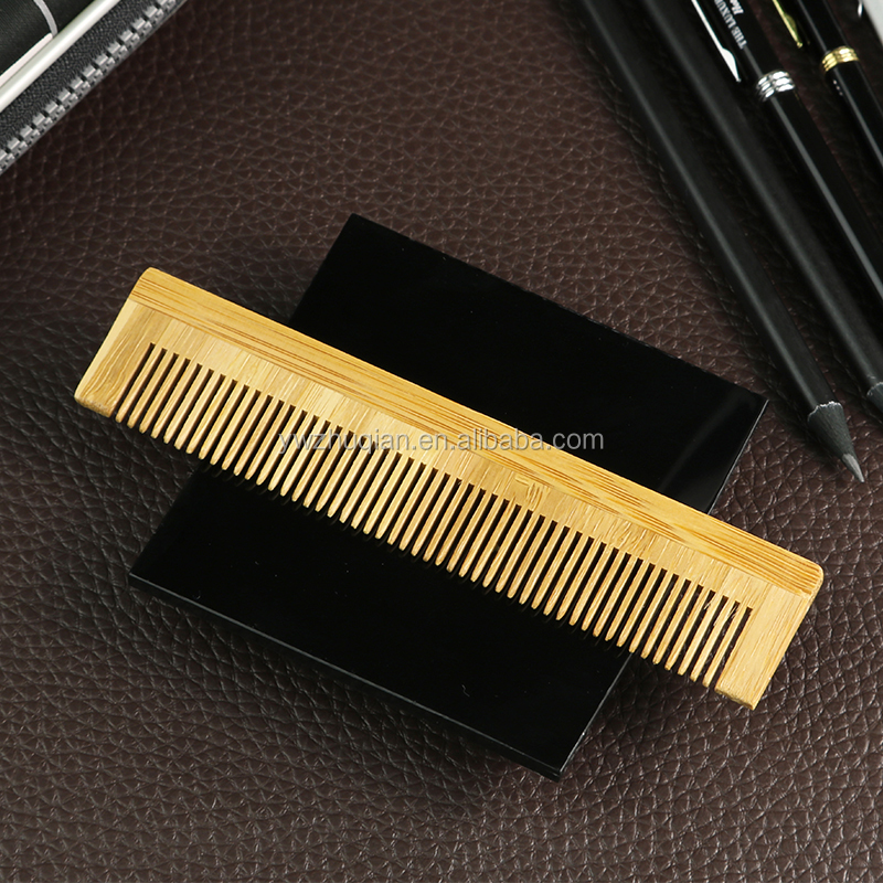 wholesale cheap price bamboo hair beard wood comb