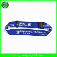 China supplier polyester luggage belt / travel luggage belt / luggage belt with lock