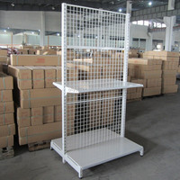 Wholesale Supermarket&store display shelf/metal gondola storage shelf/Shelving System