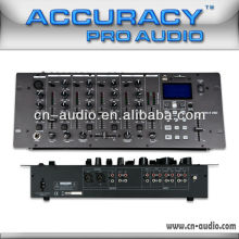 Professional 5ch DJ music Mixer with USB SD player MIX-5USD