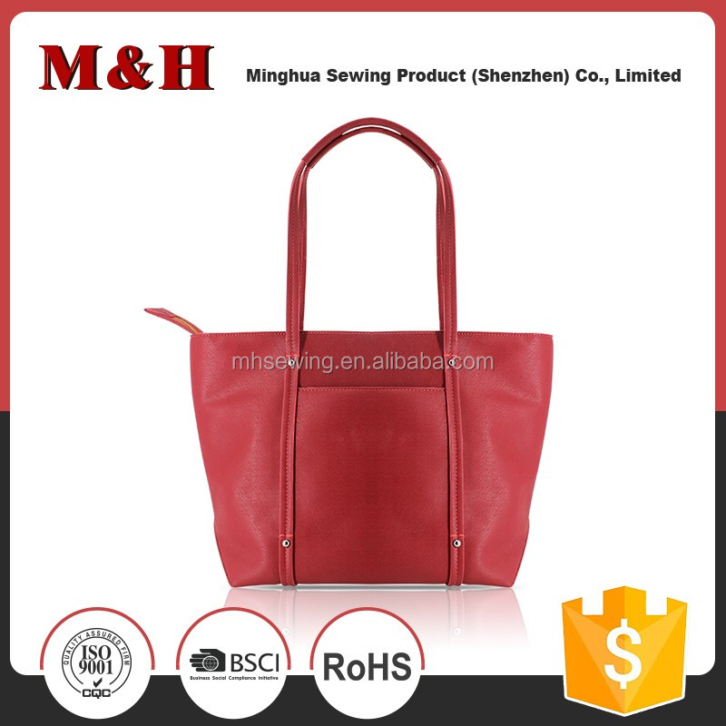 Women's Shopping Bag Large Capacity Zipper Handbag Tote Shoulder Bag Satchel
