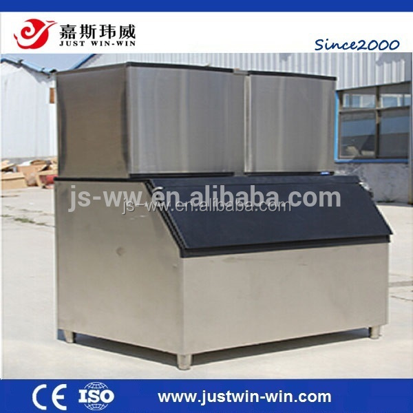 2016 New business 1000Kg ice cube making machine with PLC & touch screen for coffee shops