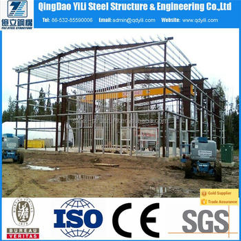 long life steel structure building with high quality