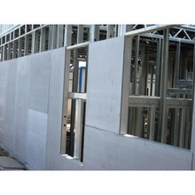 Cheap Price Non-asbestos Fiber Cement Board / Fire Resistant Exterior Sidding Wall Panel Fiber Cement Board