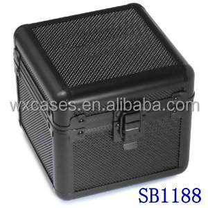 best seller aluminum single watch boxes wholesale with custom foam insert manufacturer