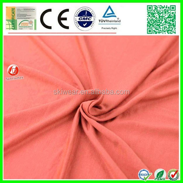spun viscose polyester rayon spandex crepe fabric for apparel
