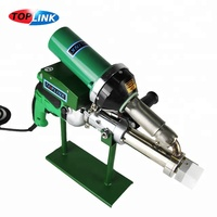 Plastic Welder Gun Vinyl extruder pipe extrusion hot air plastic welding gun