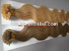 OEM service 5A virgin brazilian hair double drawn extensions