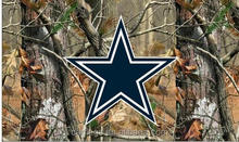 Dallas Cowboys real tree camo Flag NFL banner 100% polyester 3x5Ft