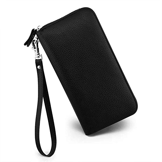 2019 Zipper PU Leather <strong>Wallet</strong> Long Purse Card Holder <strong>Wallet</strong> For Women