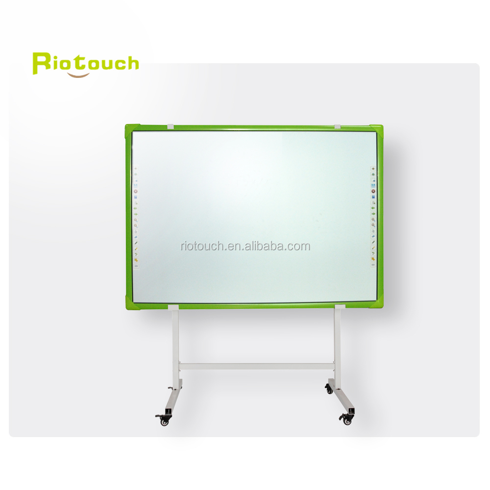 multi-touch interactive whiteboard sliding combination board for smart classroom