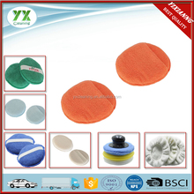 China Wax Applicator Microfiber Cleaning Pad With Pocket