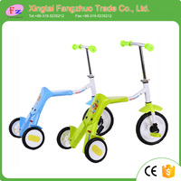 Factory wholesale 3 in 1 mini kids kick scooter baby scooter