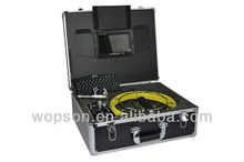 Drill inspection equipment with video camera