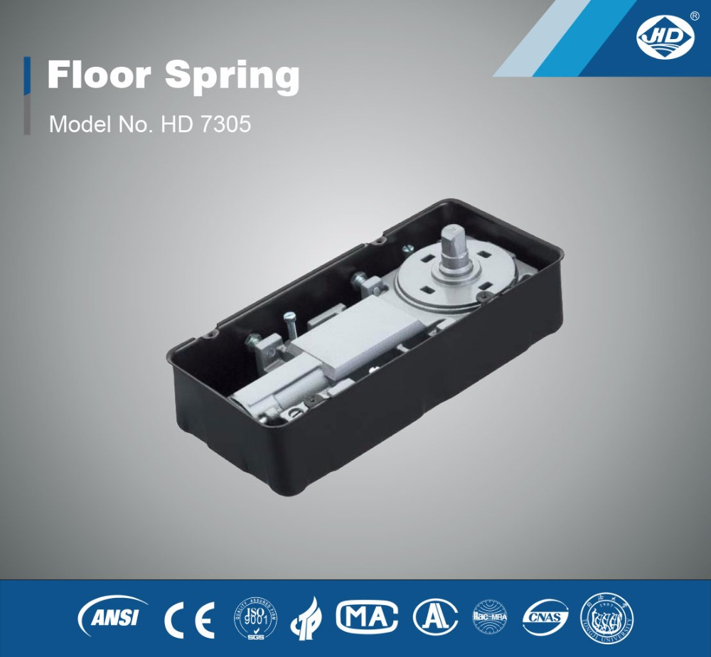 HD-7305 commercial glass door hinges cheap floor spring hydraulic floor spring