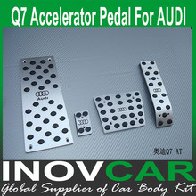 Q7 aluminum alloy car footplate, gas pedal For BMW Q7 Non-Slip Pedal AT