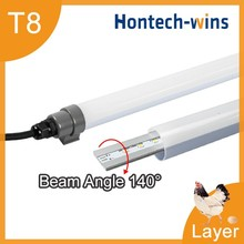 Farm led lighting, T12 tube light dimmable for chicken shed waterproof led tube lamp
