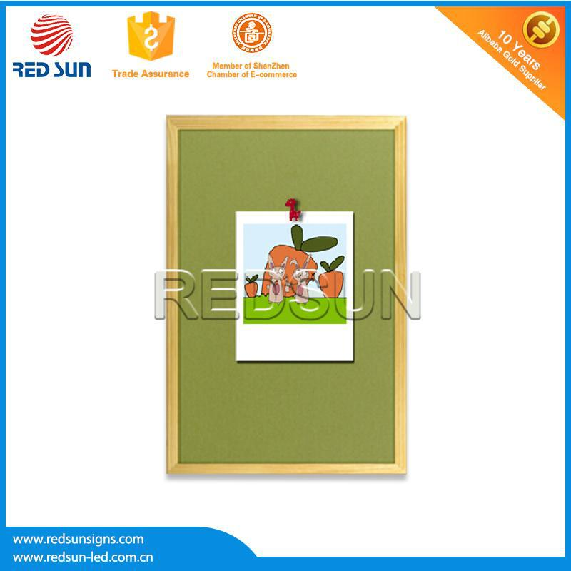 2015 factory best selling Household black cork board