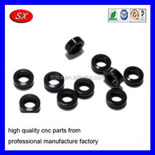 custom black coating steel spacer for bearing,cnc turning plastic carbon steel spacer