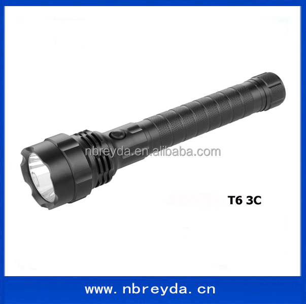 <strong>C</strong> <strong>Battery</strong> Powered <strong>10</strong> inch Long Torch Light T6 Flashlight Flash Light