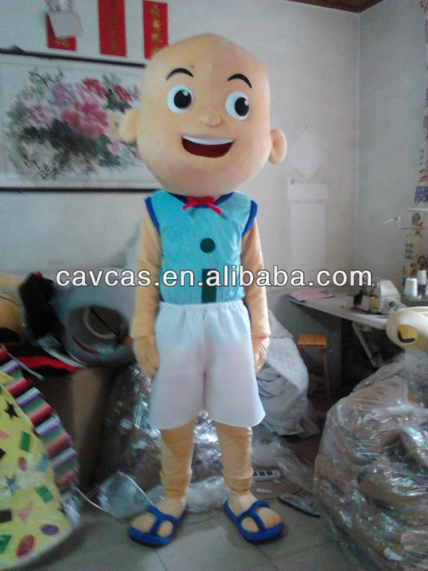 EN71 top sale mascot costume Upin&Ipin