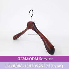 DL1318 Wooden hanger for female suit display/lotus wood wooden hanger