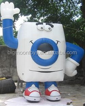 wholesale cheap custom giant promotional inflatables washing machine model for sale