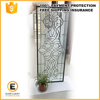 interior designs double sealed doors stained glass