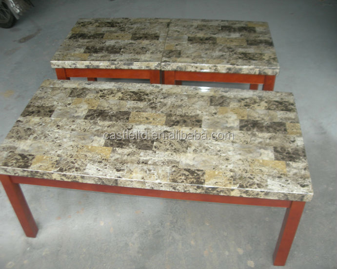 Shadow box coffee table,Faux Marble Coffee Tables