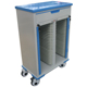 China supplier hot sale iso quality double sides steel hospital clip trolley