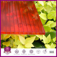 Gensin best price polycarbonate twin wall hollow sheets