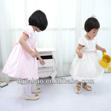 summer collection Pure white latest design in kids wear