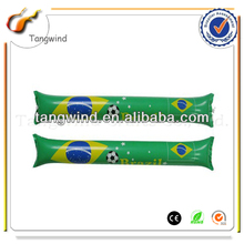 TWT1074 Brasil world cup 2014 inflatable cheering stick