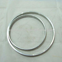 Sales custom all sizes round alumium jump ring by machined CNC-184