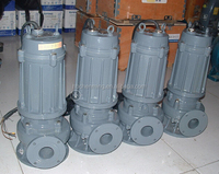WQ stainless steel centrifugal submersible sewage pump