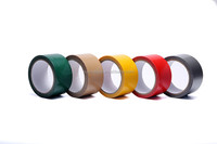 China Manufacturer Hotmelt Green Cloth Duct Tape