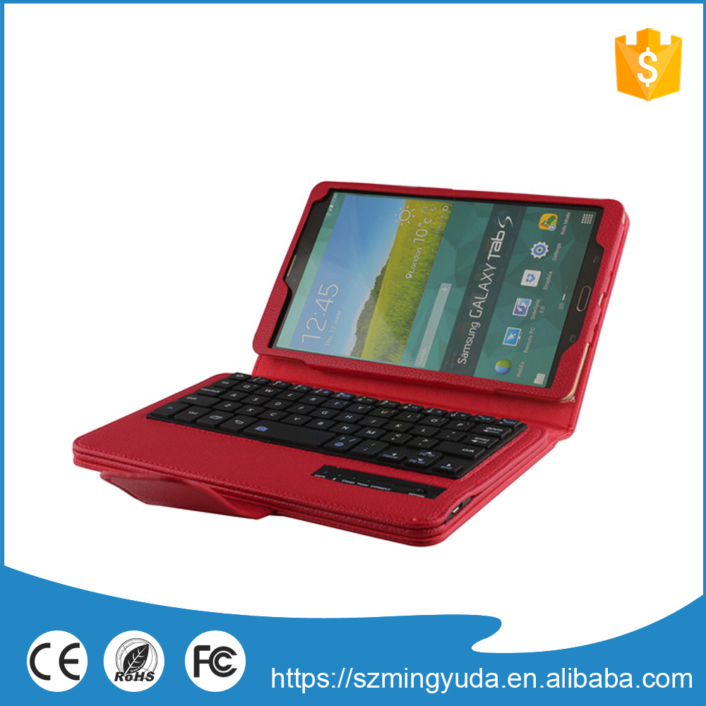 High quality custom bluetooth keyboard leather case for ipad