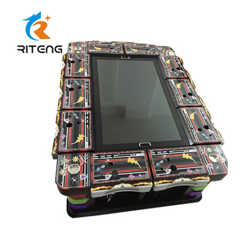 Shooting fish game fishing game table gambling fish hunter machines for bar