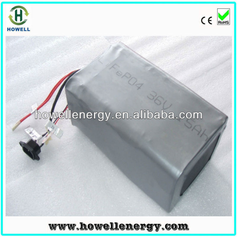 Electric vehicle battery/golf cart battery/36v lifepo4 battery