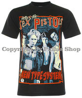Sid Vicious the sex pistols T-Shirt (NS018)