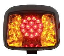 Motorcycle led tail light / lamp integrated signal light