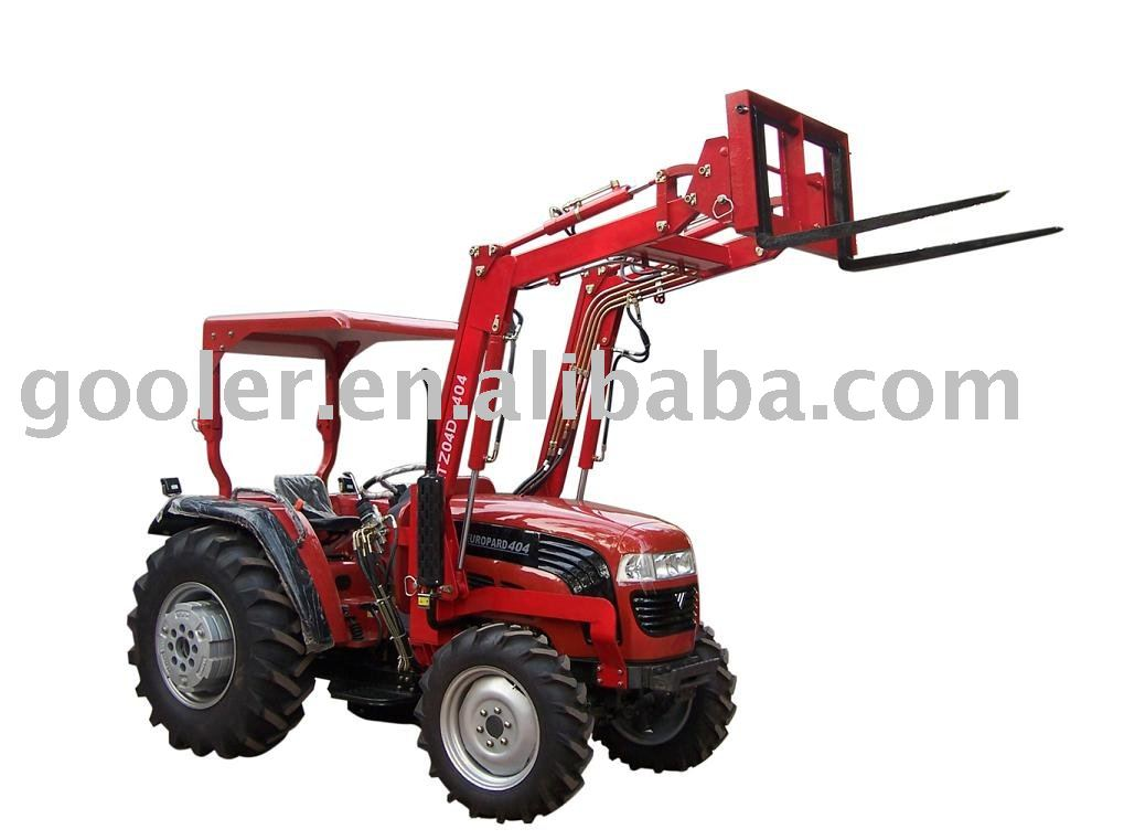 Pallet fork fit with Tractor, Front end loader quick linkage