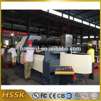 HSSK-Advanced Machines Automatic Detection cnc 4 roller bending machine