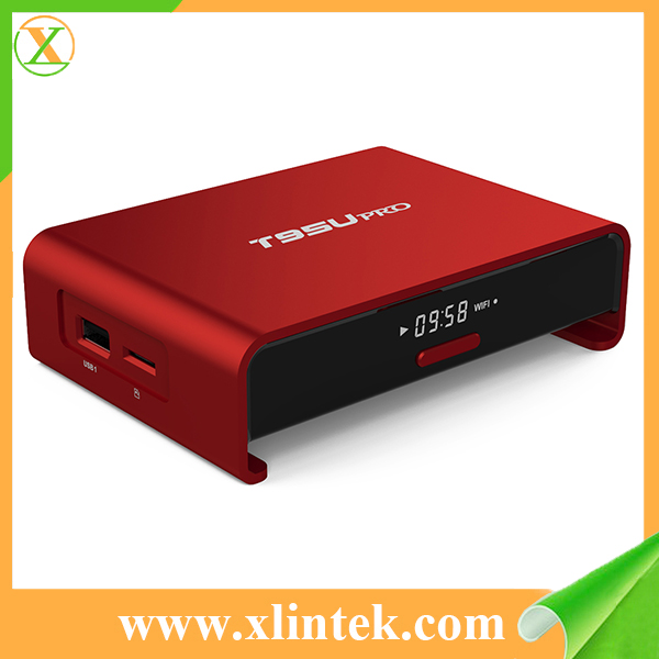 A new kodi T95U PRO android tv box Amlogic S912 Android6.0 otca Core WiFi BT 4.0 2GB/16GB set top box Media Player