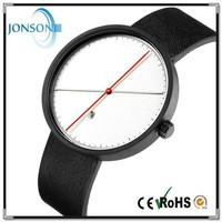 Vogue minimalist custom blank japan movt minimal watch unisex o'clock watch